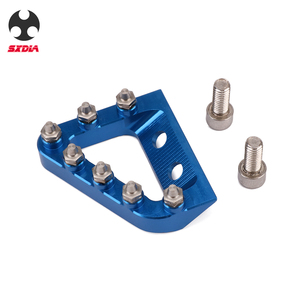 Image 4 - Motorcycle Foot Rear Brake Pedal Lever Step Tip Plate For KTM 125 250 350 450 SX SXF EXC EXCF XC XCF XCW Husqvarna TE FE TC FC