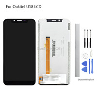 Display Screen Replace for Oukitel U18 LCD Touch Screen 5.85 inch black for Oukitel U18 Touch Screen LCD Without Frame