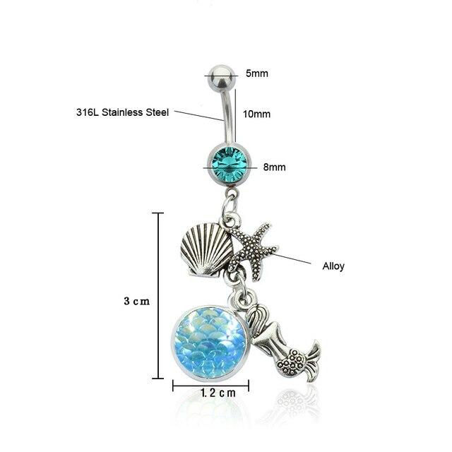 Купить 1 шт кристалл стразы для женщин пупок пупка кольцо пирсинга