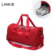 2018 Red Black Gym Bag Women men Shoe Compartment Waterproof Sport Bags for Fitness Training Outdoor Yoga Bolsa Sac De Sport