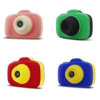6 세대 미니 어린이 카메라 slr 듀얼 렌즈 전면 1200 w hd 픽셀 selfie 카메라 캠코더 선물 장난감 카메라 장난감