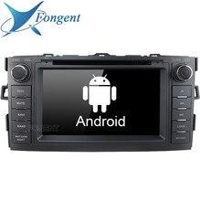 Android блок 2 din DVD Audio автомобильное Стерео Радио мультимедийный плеер для Toyota Auris 2008 2009 2010 2011 2012 автомобильного gps-навигатора
