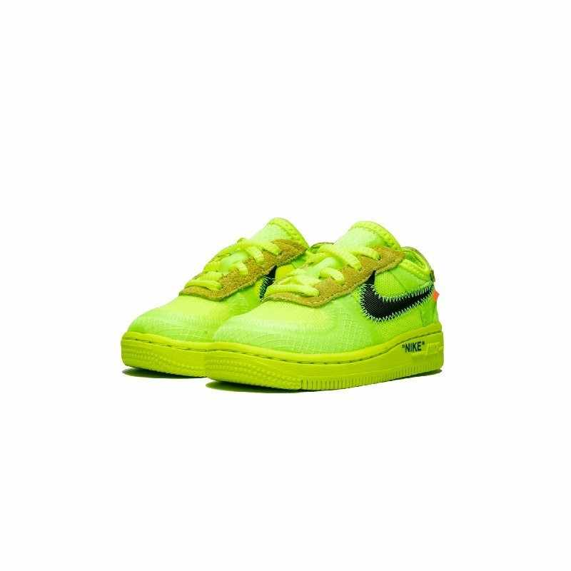 Nike Air Force 1 (TD) Оригинал Новое поступление Детские сетчатые кроссовки дышащие спортивные уличные кроссовки # BV0853-700