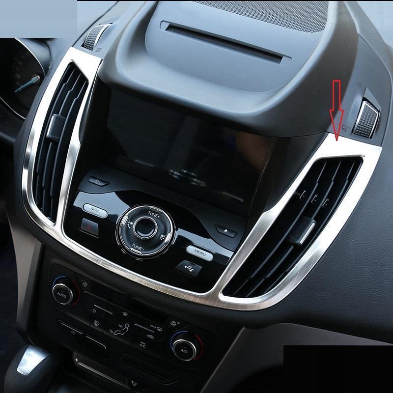 Auto système de contrôle Navigation climatiseur Intérieur Décoration style de voiture Accessoire Moulures 15 16 17 POUR Ford Kuga