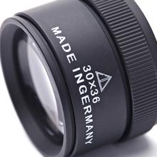 Mini kieszeń lupa Handheld 30X 36mm HD lupa szklana soczewka optyczna lupa lupa na monety znaczki lupa jubilerska tanie tanio Inpelanyu C1429-01 Brak Szkło 43*30mm Pocket Magnifier Coin Stamps Magnifier Jewelers Loupe Microscope Optical Glass Lense