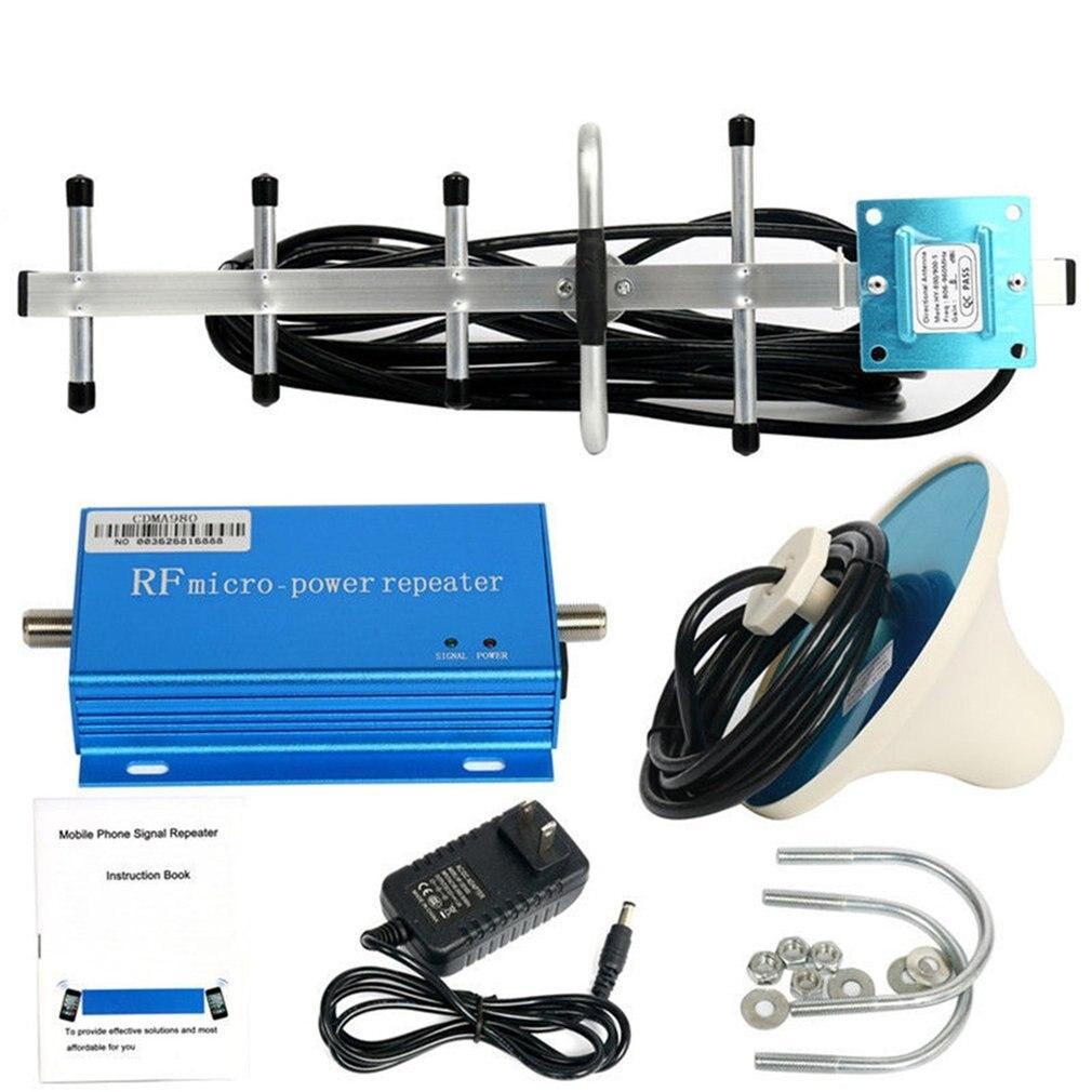 Amplificateur de propulseur de répéteur du Signal 3G 4G de téléphone portable de 850 MHz CDMA avec le Kit d'extension aérien de Signal de Grain élevé pour le bureau à la maison