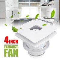 YDHC 09 4 Inch 12W Exhaust Fan kitchen Ventilator 220V Ventialtion Vent Extractor Air Blower Quiet Wall Bathroom Toilet