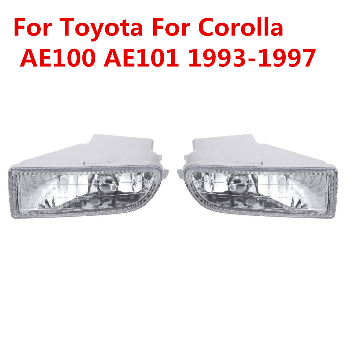 New 2x Car Stying Front Fog Light LED Fog Lamp LED For Toyota For Corolla AE100 AE101 1993 1997 A1649060451