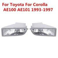 New 2x Car Stying Front Fog Light LED Fog Lamp LED For Toyota For Corolla AE100 AE101 1993 1997 A1649060451
