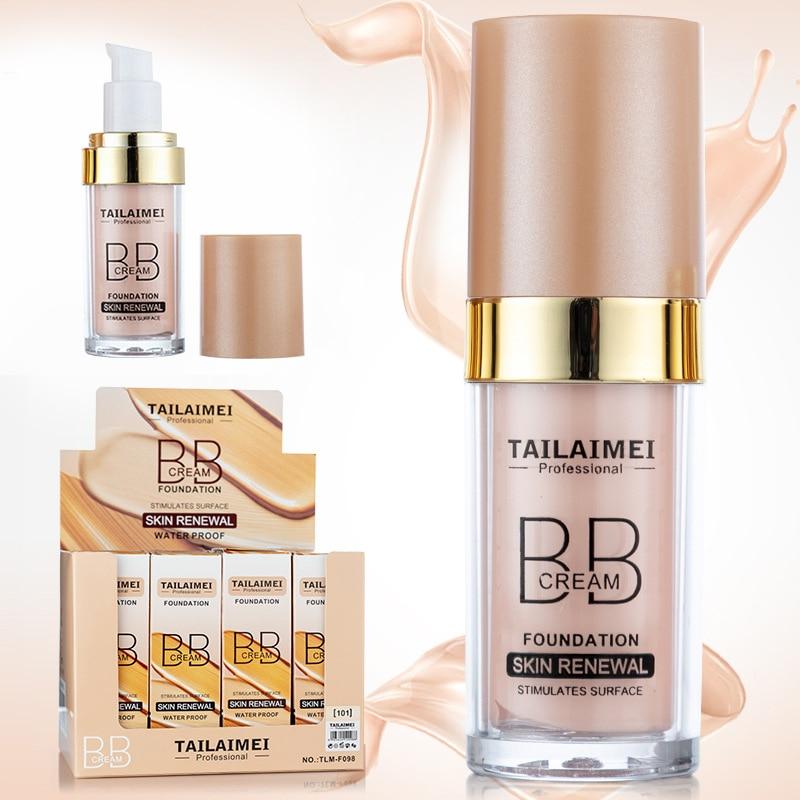 Ivory Natural 30ml Face BB Cream Foundation Base Makeup Skin Renewal Moisturizing Concealer Face Beauty TSLM1