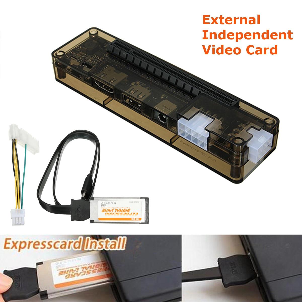 Mini carte vidéo indépendante PCI-E Dock EXP GDC Fit bête ordinateur portable externe carte vidéo indépendante Dock carte Express
