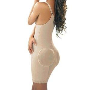 Image 2 - ก้นยกกางเกง Full Body Corset Shapewear Body Shaper ชุดชั้นใน Slimming Body Minceur สายรัด Slimming Belt Shapewear