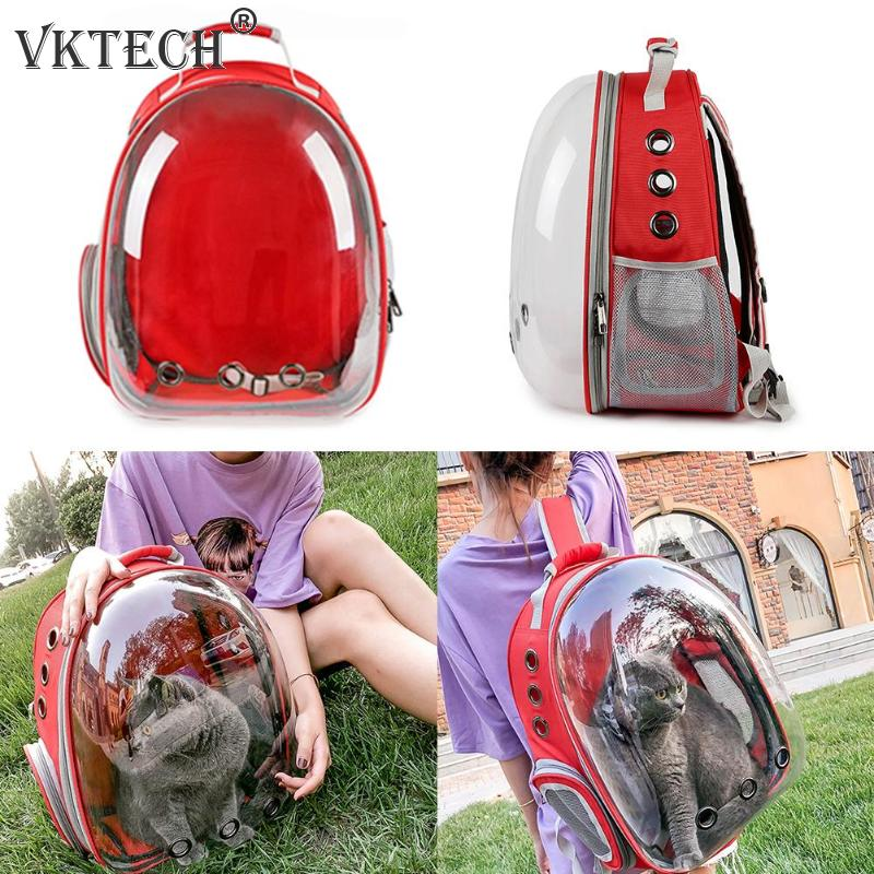 Image 4 - Breathable Pet Carrier Bag Portable Cat Dog Bag Basket Portable Outdoor Travel Backpack Pets Carrying Cage Pet SuppliesDog Carriers   -