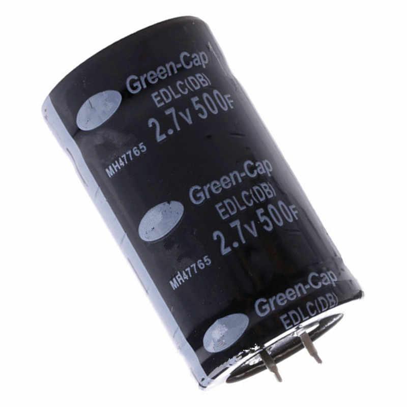 1 шт. супер фарад конденсатор 2 7 в 500F автомобильный аксессуары для конденсатора