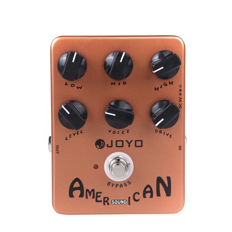 JOYO JF 14 Guitar Effect Pedal American Sound Guitar Pedal Amp Simulator Effects Pedal High Quality