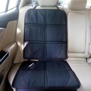 Image 2 - Universal Polyester PU Car Seat Cover Protector Mat Child Baby Kid Chairs Seat Protection Cushion Pad Auto Accessories Black New