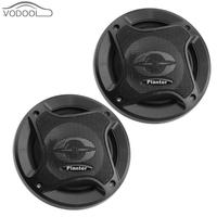 1Pair 5 inch universal car speaker 300W auto sound system car audio coaxial speakers tweeter som automotivo with car horn