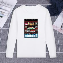 396677b0 Friends TV Show Quotes Funny Tshirt Custom Cotton O Neck Top Tees Plus Size Long  Sleeve Brand Unisex Shirts