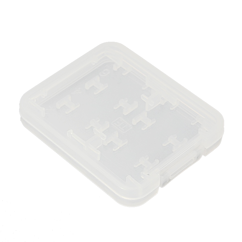 8 In 1 Plastic Micro SD SDHC TF MS Memory Card Storage Case Box Protector Holder