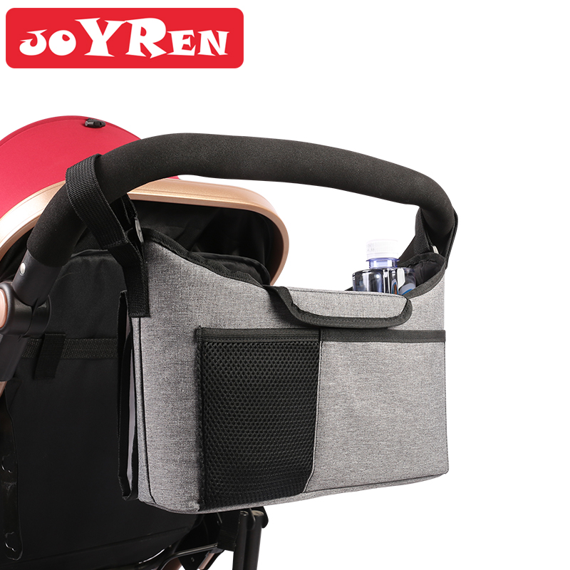 Stroller Bag With Changing Pad Fits All Strollers Large Storage Space Stroller Organizer