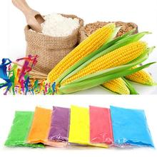Running Throw Powder Corn Starch Color Runs Photobooth Props 100g/Bag 6 Colors Food Grade Colored Flour Harmless Celebrate