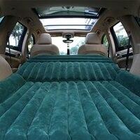Универсальный автомобильный надувной матрас кровать открытый туристический Надувной Матрас Подушка с воздушным насосом для внедорожника