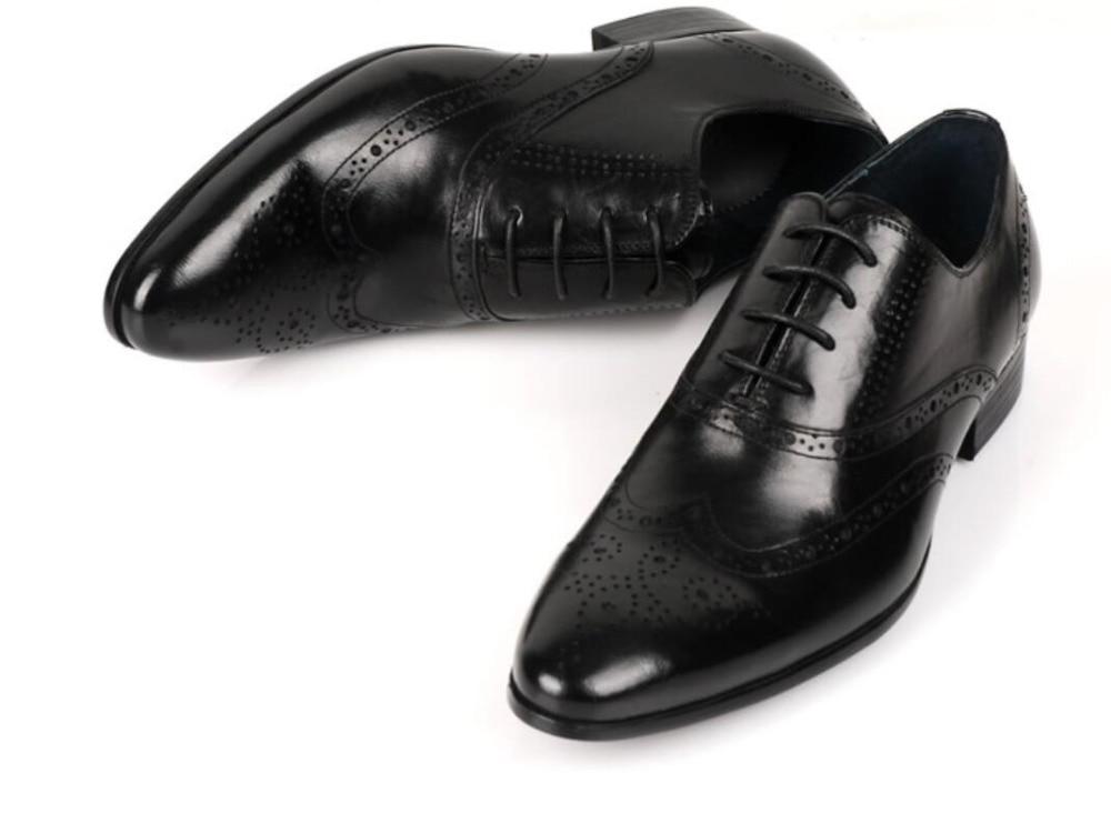 1 En De Noce Printemps Bout Richelieus Cuir 2018 Lacent Hommes Chaussures Derby Italien Bal 2 Véritable Pointu iOZkXuP