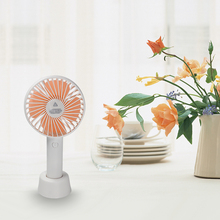 Mini Handheld Fan Portable Personal Desk Electric Battery Operated 3 Speeds Small USB Quiet For Office Home Dorm
