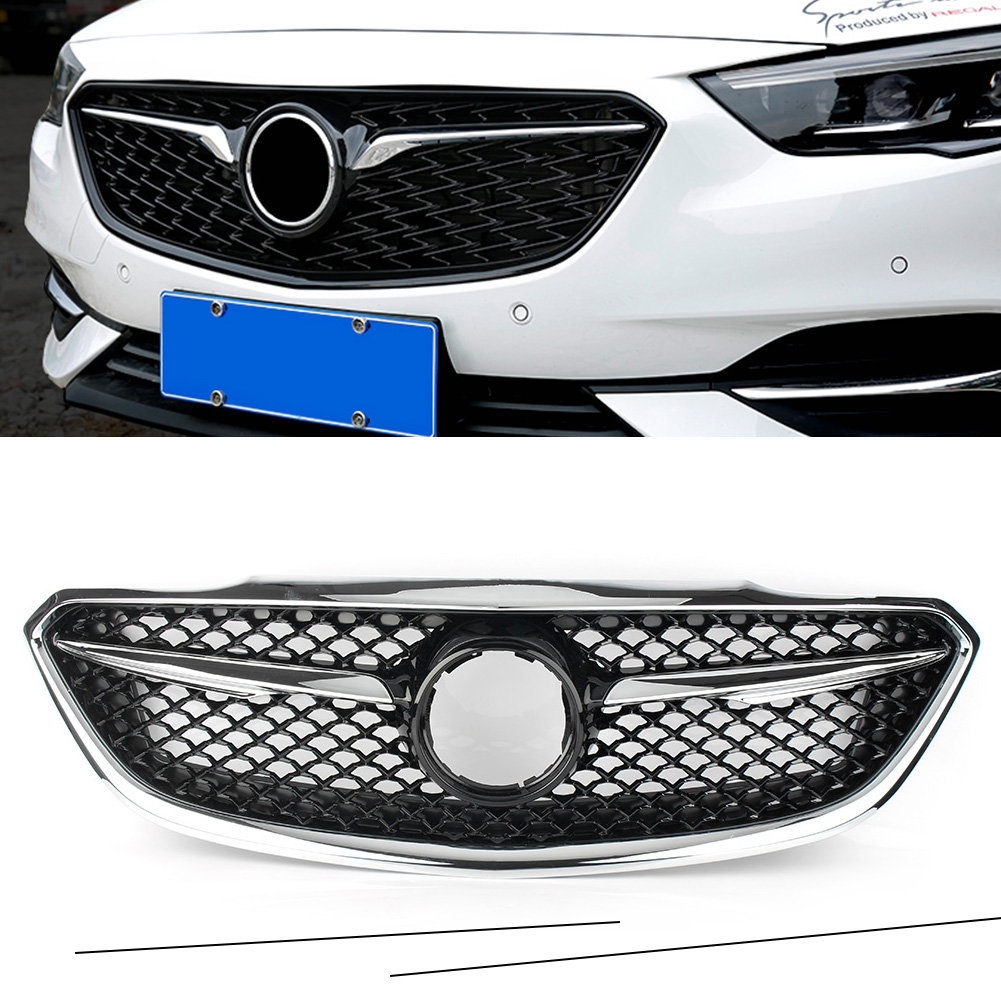 For Buick Lacrosse La Crosse Car Front Grille Sports Honeycomb Style Upper Grill 2017 2018 17 18|Front & Radiator Grills| |  - title=