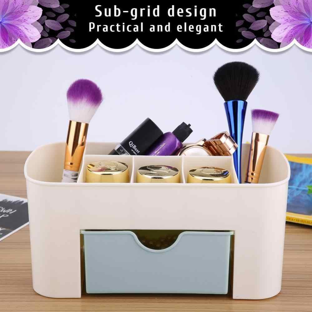 Make Up Brush Holder/Potes de Armazenamento De Jóias Caso Caixa De Organizador De Armazenamento de Gaveta