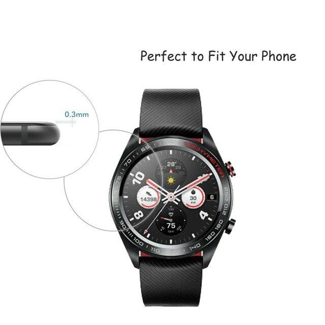 2.5D verre trempé protecteur d'écran pour Huawei Honor montre magique 2 GT 2 2e 42mm 46mm Smartwatch écran garde Film protecteur 2