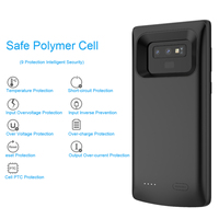 For Samsung Galaxy Note 9/Galaxy S8 Battery Charger Case 5000mAh Power Bank External Backup Charger Protective phone Case Cover