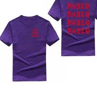 Kanye West Pablo T Shirt Men I Feel Like Pablo Printing Short Sleeve Anti Season 3 T Shirt Hip Hop Club Social Rapper Tee Tops