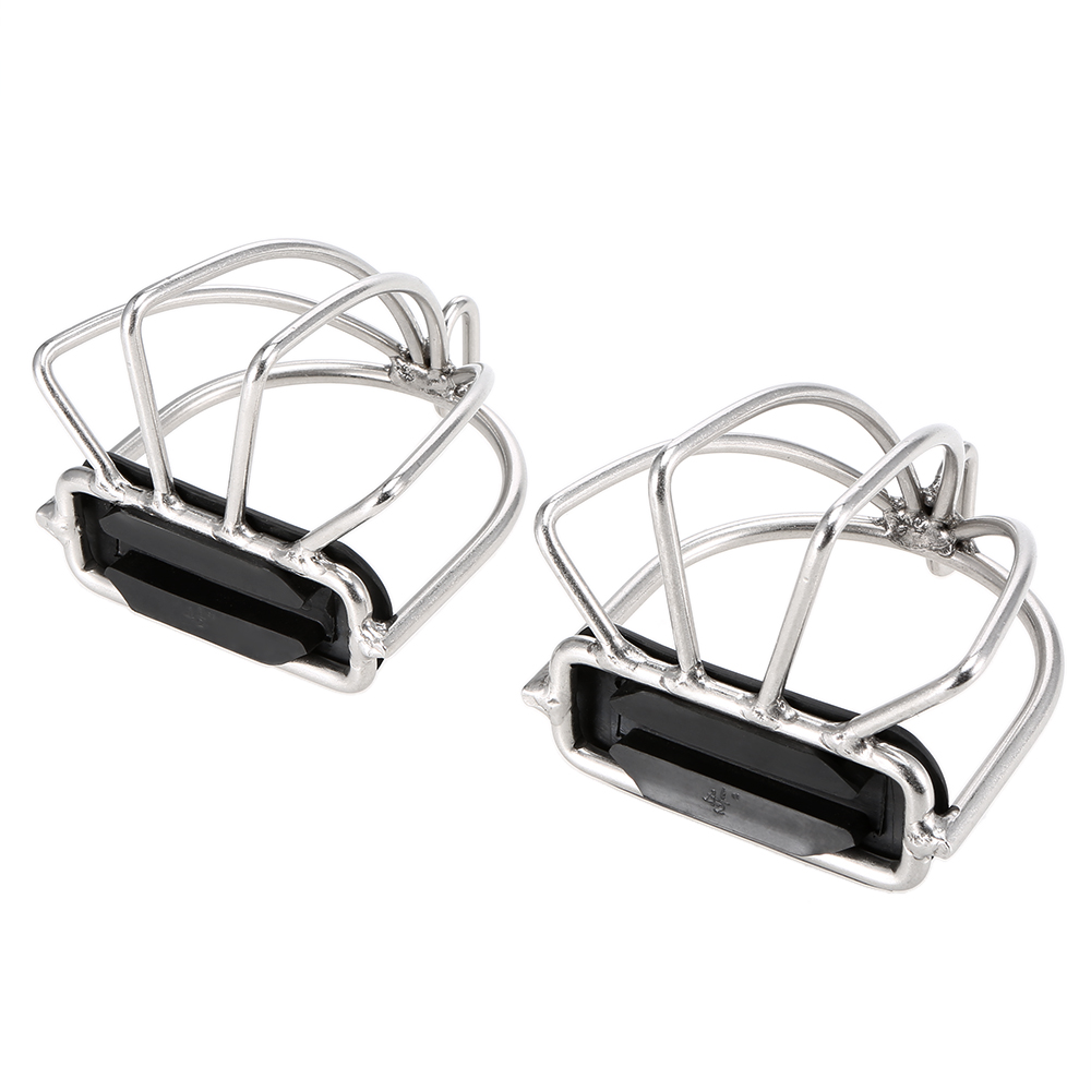 Image 5 - 2 PCS Cage Horse Riding Stirrups Flex Steel Horse Saddle Anti skid Horse Pedal Equestrian Safety Equipment-in Horse Care Products from Sports & Entertainment