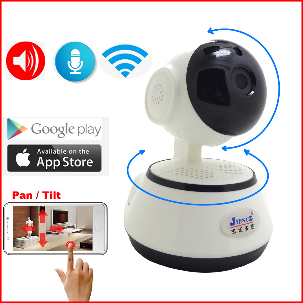 JIENUO IP Camera 720P Wifi Two Way Audio Wireless Cctv Security Indoor Mini IPCam Infrared Home Surveillance Baby Monitor CamJIENUO IP Camera 720P Wifi Two Way Audio Wireless Cctv Security Indoor Mini IPCam Infrared Home Surveillance Baby Monitor Cam