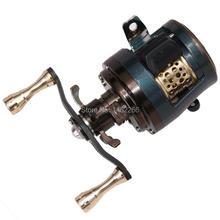 WOEN JKS150 todas las ruedas de tambor de metal 11 + 1BB camino subgotas de agua rueda Micro objeto carrete de pesca