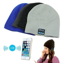 Soft Warm Beanie Hat Earphone Wireless Bluetooth Smart Cap Headset Headphone Speaker Mic Bluetooth Hats Hot Sale
