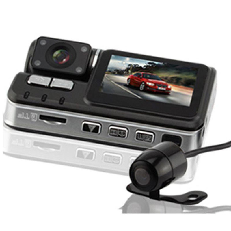 Auto Mini Dash Cam Car Dvr Wide Angle and Night Vision HD Traffic Recorder 1080P Front and Rear Dual Lens Direct Display