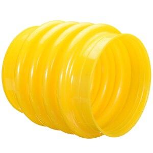 1 pièce polyuréthane saut Jack soufflet botte 17.5cm jaune pour Wacker pilmer compacteur inviolable outils électriques à main accessoires