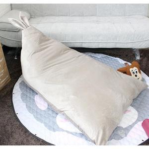 Image 5 - Adeeing Trẻ Em Thoải Mái Tai Thỏ Thiết Kế Đậu Túi Đồ Chơi Lưu Trữ Đọc Ngủ