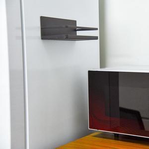 Image 2 - מטבח מדף מקרר צד קליטה מגנטית אחסון אחסון מדף אחסון מדף מקרר צד מדף