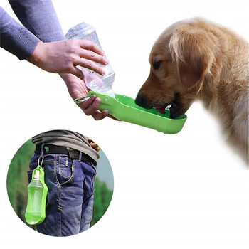 Pet Feeders for Dogs Outdoor Portable Water Bottle Dog Accessories