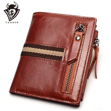 Men Wallet Male Coin Purse Short Men Wallets Genuine Leather Men Purse Casual Vintage Men Cowhide Wallet difenise genuine nappa first cowhide leather men s wallets vintage solid short wallets men purse classic black and coffee color