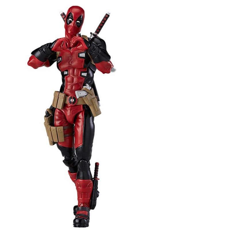 Lendas maravilha Novo 2019 Modelo de 15 centímetros Pvc X-Men Filme Deadpool Figuras de Ação Homem de ferro Avengers Endgame Movable figma Boneca