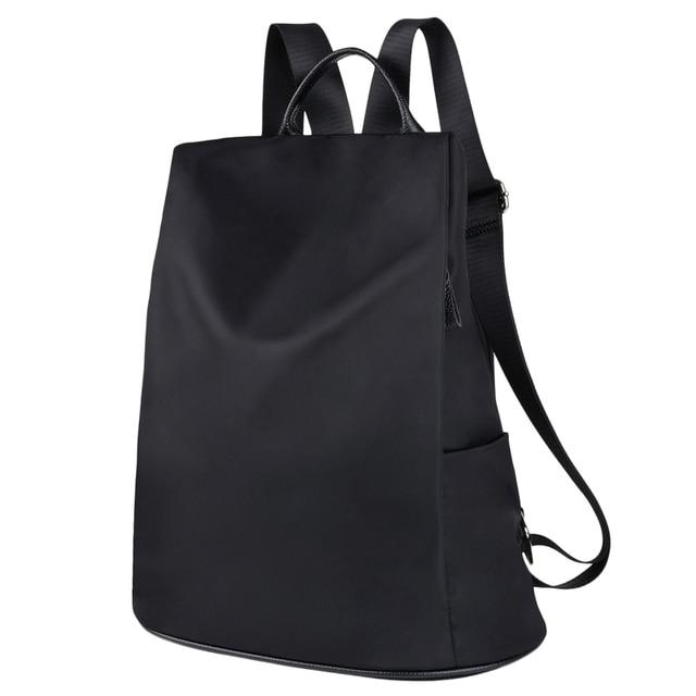 Coofit Tasarımcı Bayan Marka Sırt Çantası Moda Naylon Su Geçirmez Anti Hırsızlık kadın Çantası mochila escolar okul sırt çantası