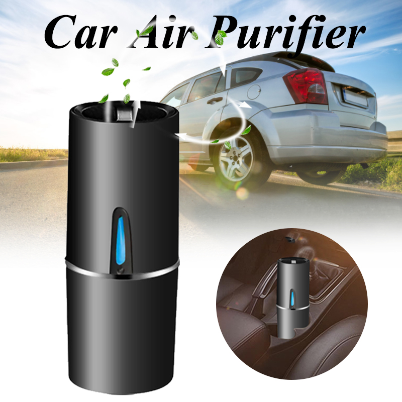 Car Air Purifier 12V Negative Ions Air Cleaner Ionizer Air Freshener Auto Remove Dust Pm2.5 Odor Air Purifier For Vehicle Auto