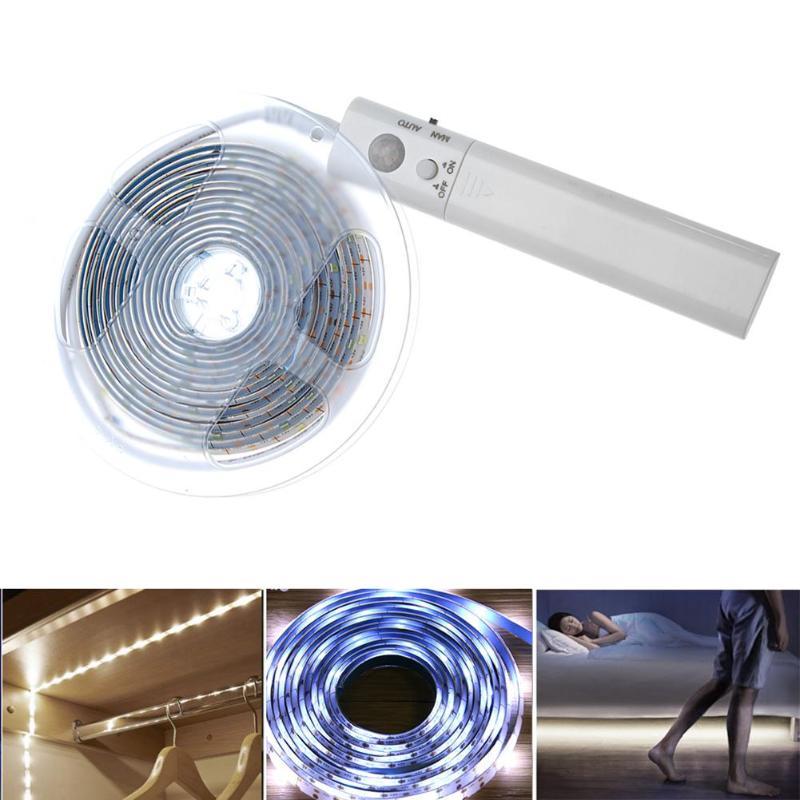Systematic 3m/9.8ft Pir Motion Sensor Led Light Motion Activated Bed Light Led Strip Sensor Night Light Illumination Led Strip Night Light Lights & Lighting