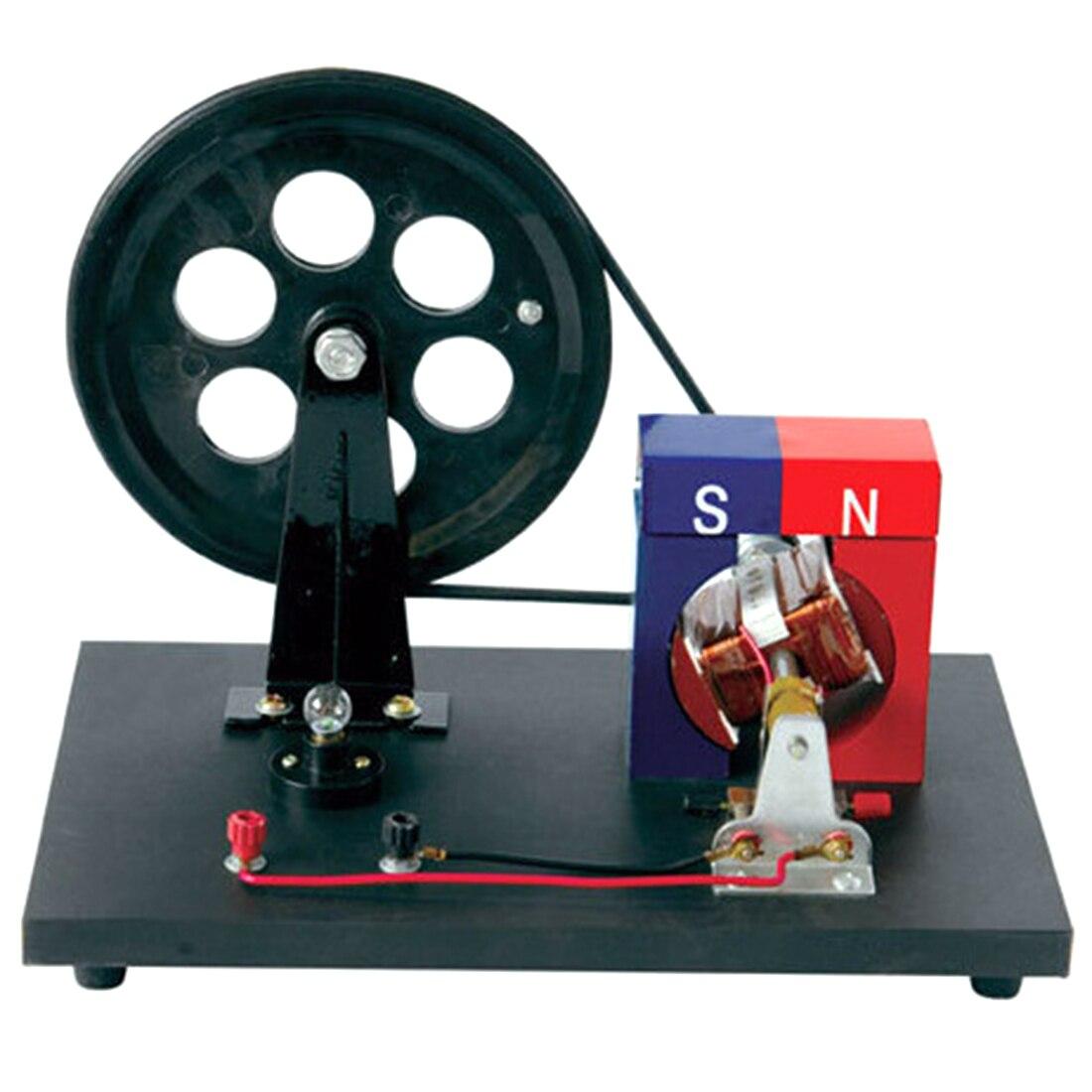 Appareil expérimental d'alternateur de main de générateur de main pour l'éducation de physique pour des enfants