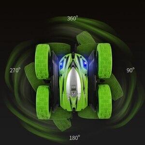 Image 5 - YD JIA RC רכב 2.4G 4CH פעלולים באגי רכב Rock Crawler רול רכב 360 תואר Flip ילדים רובוט RC מכוניות צעצועי מתנות