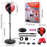Подростковая фитнес отдельно стоящая рефлекторная боксерская подвесная груша Reflex Ball